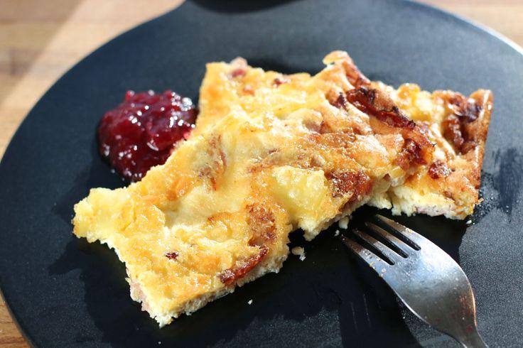 Fläskpannkaka LCHF - Uplifting - allt om god mat - recept, tips, restauranger, dryck