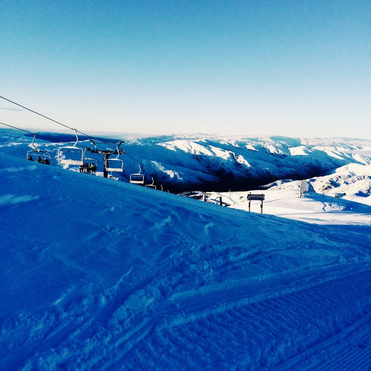 Bluebird day in the snow ❄️⛄️❄️⛄️
