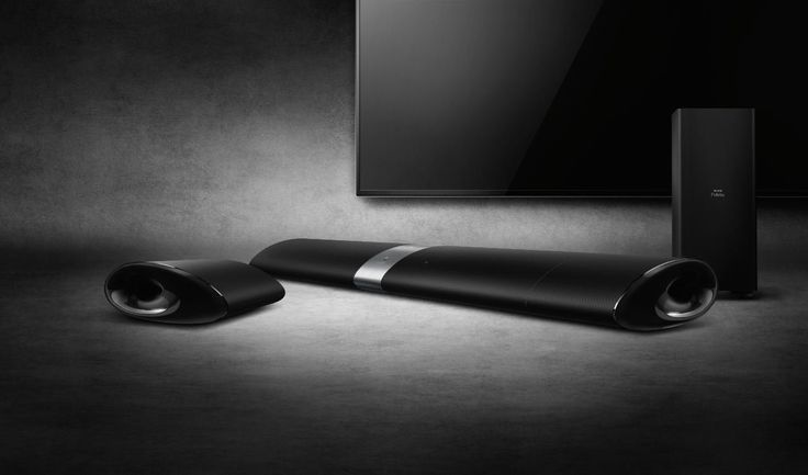 Philips Fidelio B5 Soundbar with Wireless Detachable Speakers - Black: Amazon.co.uk: Hi-Fi & Speakers