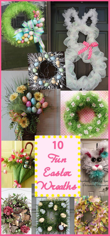 10 Easter Wreath Ideas