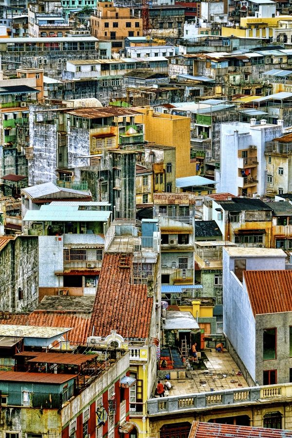 Macau Old Town, China