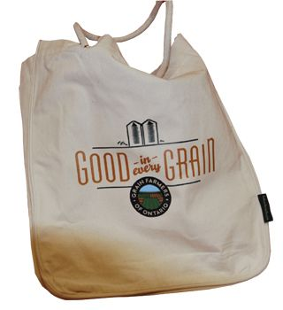 The perfect bag for groceries, school books or to take to the beach!