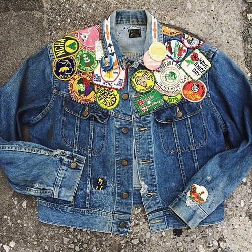 Ho-Boro-Deo jacket. #btwtba #denim #patchpatchwork #leerider #repair #remake