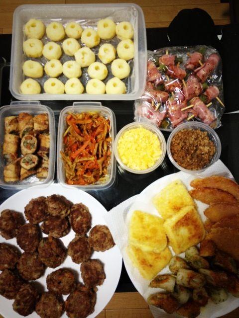 お弁当おかずを大量作り置き冷凍★ - 6件のもぐもぐ…