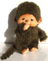 We knew these as Chic A Boos - I wonder if my mum has my 'fake' ones - we couldn't afford real ones! I had a huge fake one with a really hard face but I loved it.    Chic-A-Chic-A-Chic-A-Boo  Furry and cuddly we love you  Chic-A-Chic-A-Chic-A-Boo  It's such fun to dress you up too