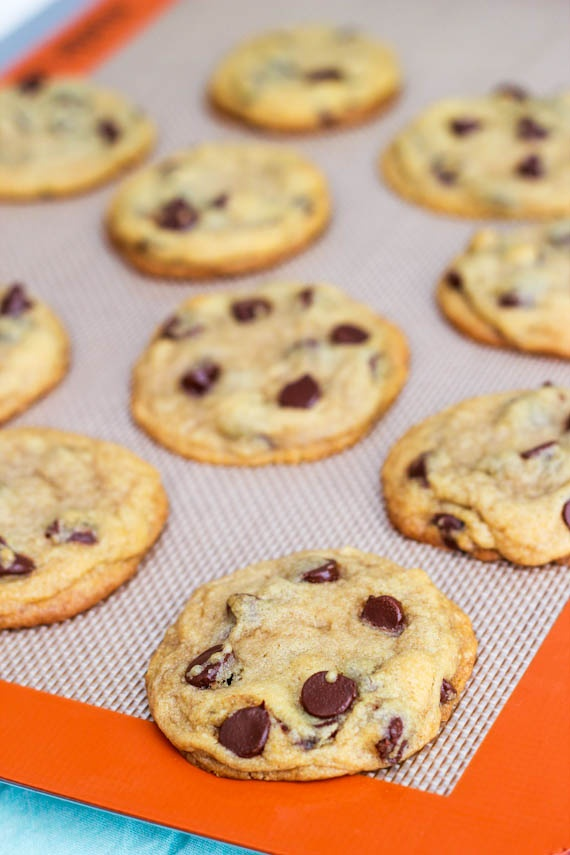Perfect Chocolate Chip Cookies by Sallys Baking Addiction #cookies