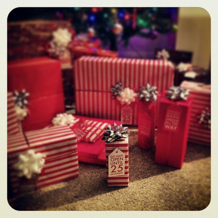 #xmaspresents #festive #wrapping