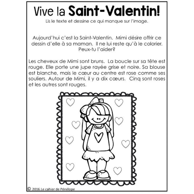 SAINT-VALENTIN : ensemble d'activités très complet!! www.lecahier de penelope.com