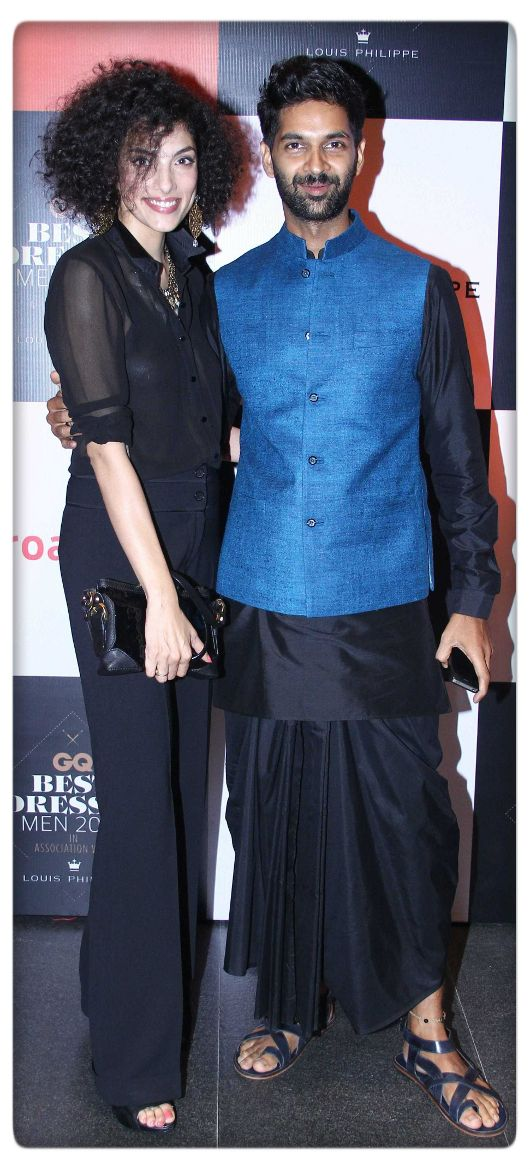 Purab Kohli in Anita Dongre menswear at the GQ India awards