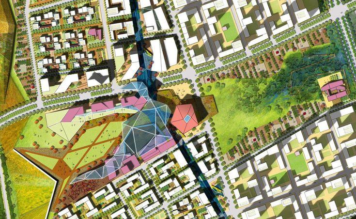 Gallery of Masterplan for National Creative Cluster / Sasaki Associates - 1