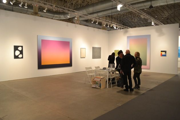 Expo Chicago 2014, new gradient paintings by Rob Pruitt.
