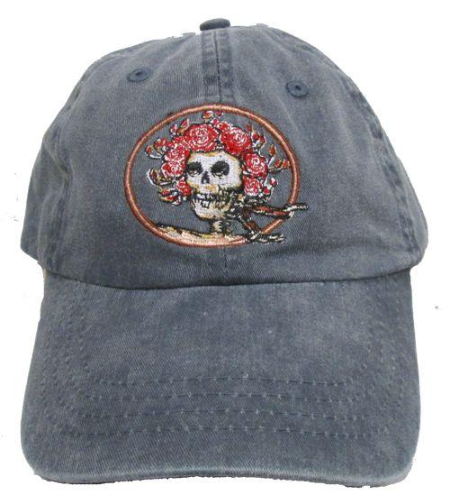 Grateful Dead Skull and Roses Premium Baseball Hat