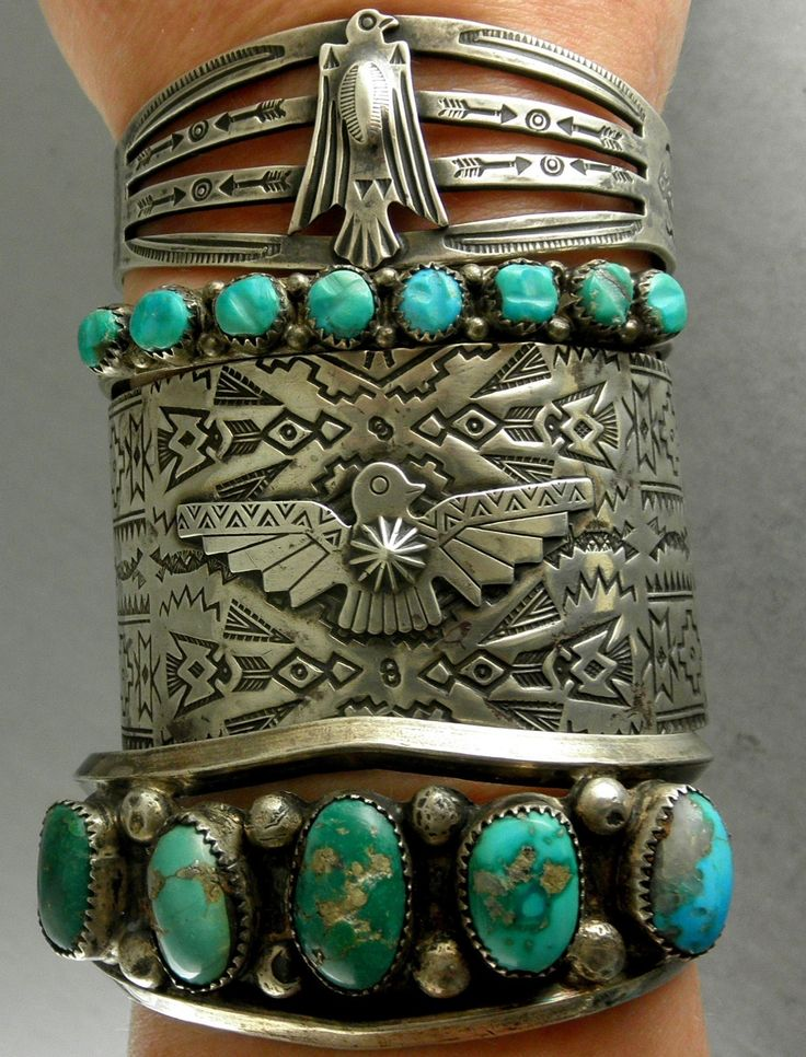 This has been tagged with vintage native american jewelry turquoise