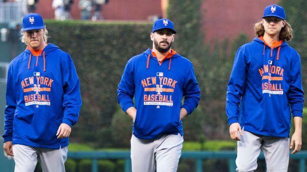 Resaltan la  joven rotación abridora de los Mets de Nueva York
