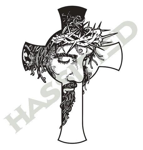Jesus Cross - SVG