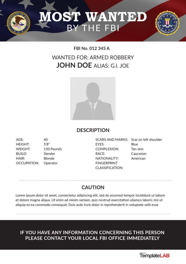 Fbi Wanted Poster Generator Free Download The Best Home School Guide Poster Template Free Brochure Template Christmas Templates For Word