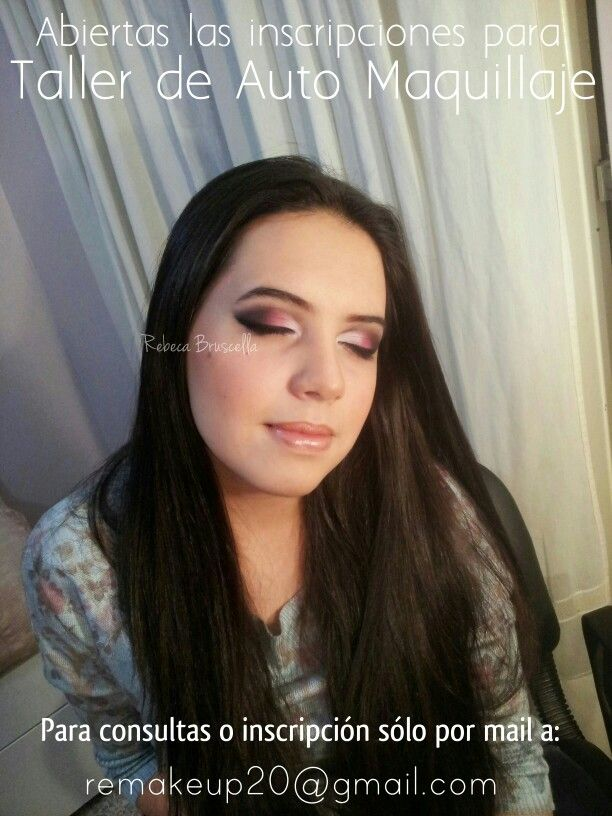 Maquillaje ojos drama con labios nude