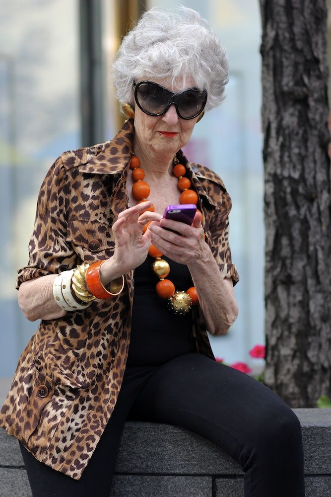 Taste of New York City: Liz Friedman texting in style at Qui Style