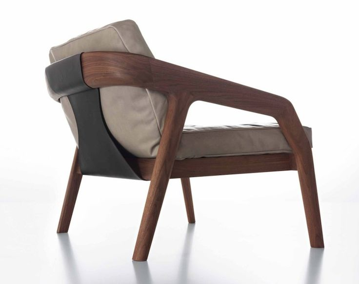 Friday Lounge Arm Chair by Formstelle.