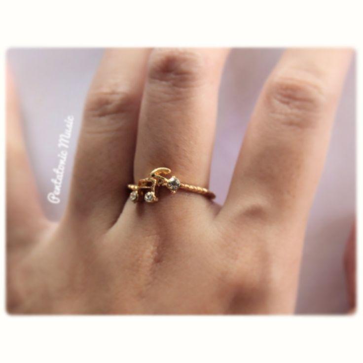 Small Notes Ring Price : 18.000 IDR Follow Instagram : pentatonicmusic