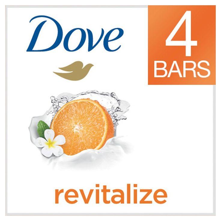 Dove go fresh Revitalize Bars 4 oz, 4 Bar