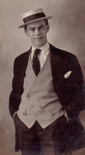 """1910s Fashion - 1910 - 1919 I understand that Grandpa Fred was quite dapper as a young man."""