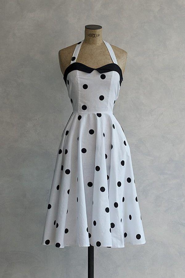 80s Vintage Backless Dress