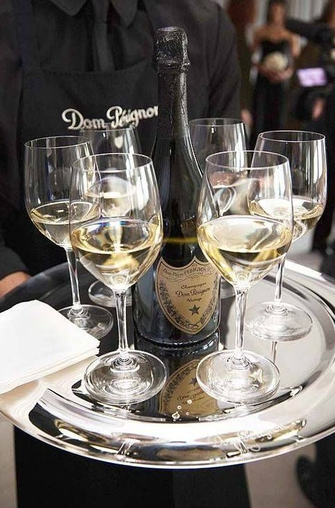 Image result for dom perignon fountain