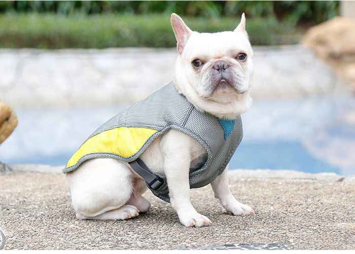 Dog Cold Vest Summer Breathable Pet Heat Proof And Cooling Clothes