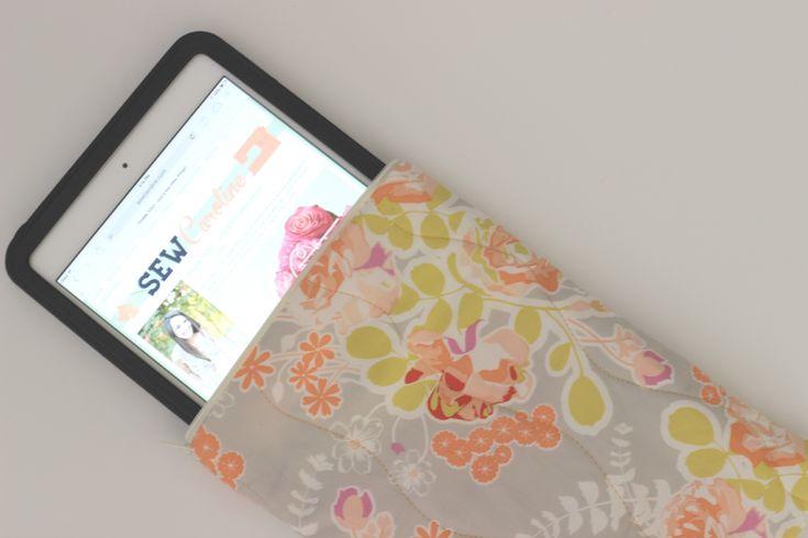 Quilted iPad Mini Tutorial