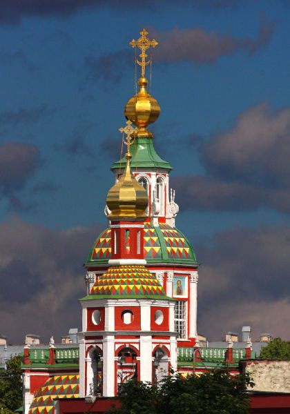 Church of the Martyr John the Warrior, Moscow