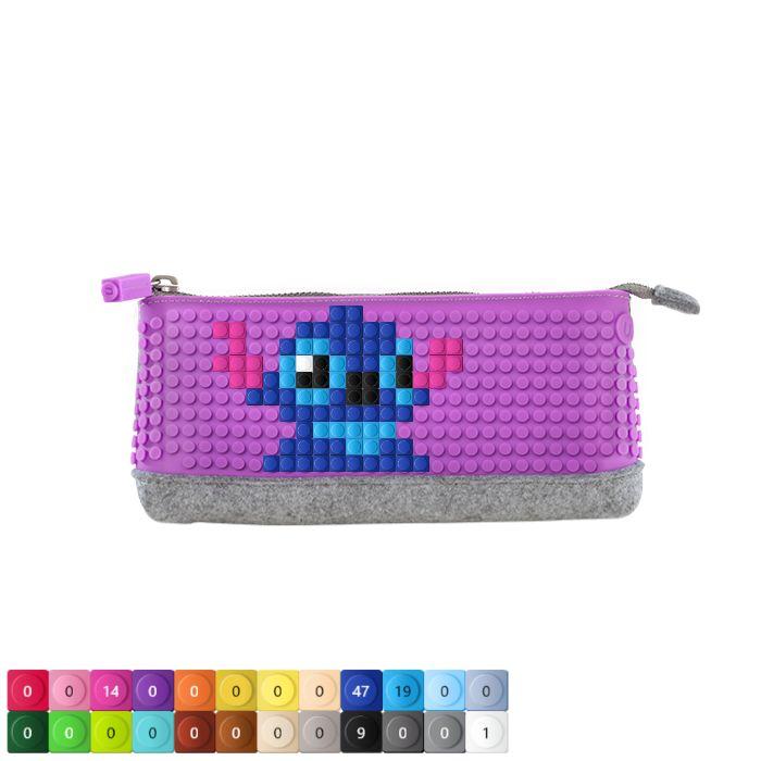"UPixel Pencil Case with Stitch Stitch"""