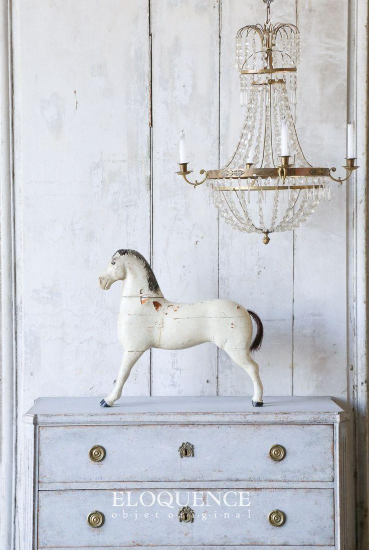 swedish antiques, love the light fixture, Velvet & Linen