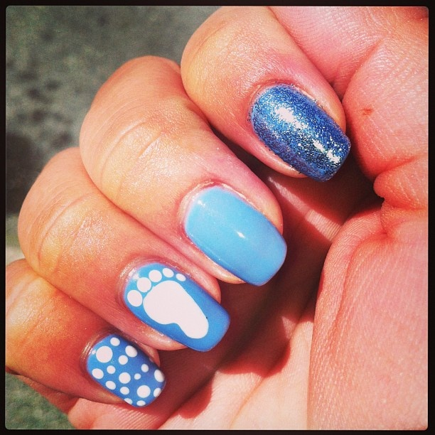 My #unc #tarheel #marchmadness #nails !!!!  Love them!!!  Another awesome job by Roxy <3