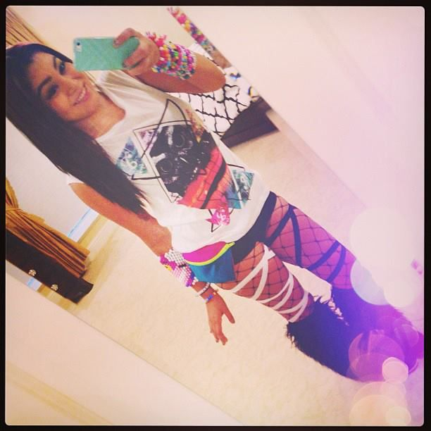 raver girl, raves, EDM, PLUR- I like this for a rave. Maybe longer shorts though. LOL