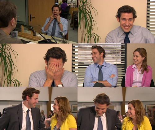 big tuna (the office,john krasinski,jenna fischer,bloopers)