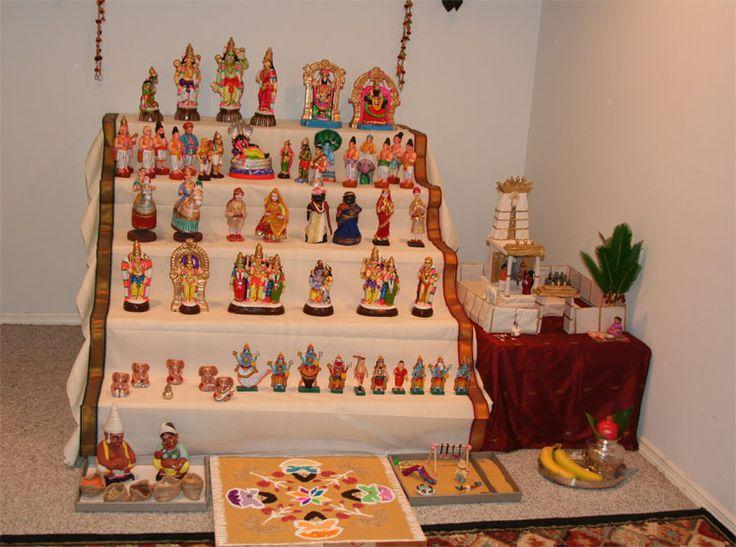 Pin By Shylaja Praveen Amuthis Kitchen On Navarathri Golu Pinterest Indian Interiors And