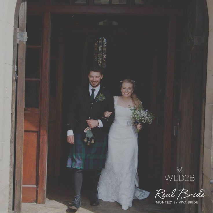 Congratulations to beautiful bride Courtney who wore 'Montez' by Viva Bride on her wedding day 💕 She looks a million dollars in this chic lace style 💕 Please take a few moments to send yours to: info@wed2b.co.uk 💕 http://bit.ly/WED2BStorefinder