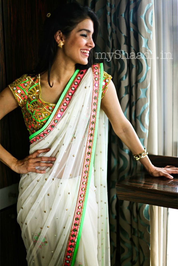 myShaadi.in > Saree by Arpita Mehta http://arpitamehta.in/
