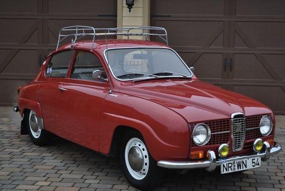 1968 Saab 96 V4