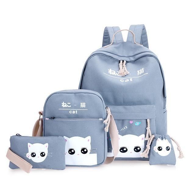 40eae7e135ef School bag for girls mochilas escolares infantis.