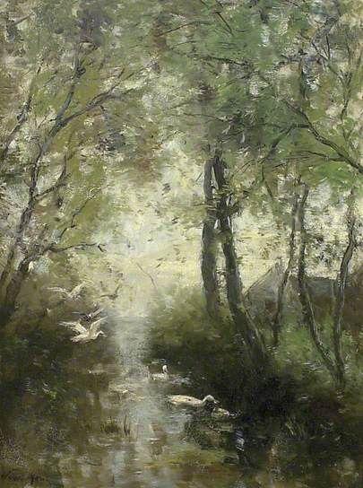 Ducks, Spring by Willem Maris