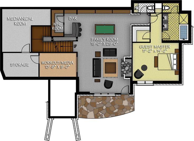 CTF: The Dakota Ridge | Basement floor plans, Floor plans ...