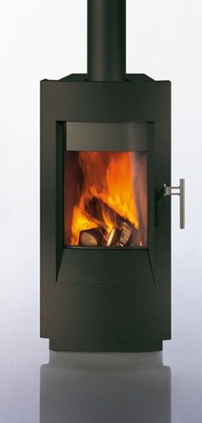 Tula Freestanding Contemporary Wood Stove