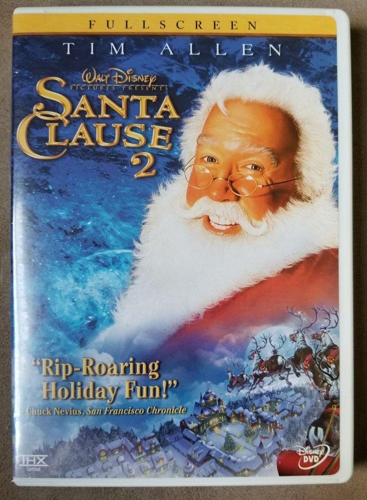 Walt Disneys Santa Claus 2 Dvd Full Screen Christmas Movies