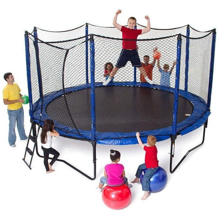 Juice Master S Pro Bounce Rebounder: 17 Best Ideas About Trampoline With Enclosure On Pinterest