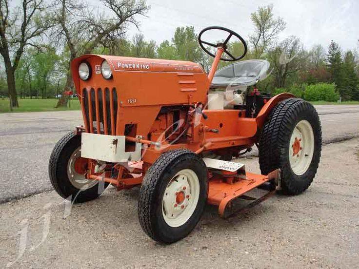 jj riverside mfg ltd power king 1614 gas lawn garden tractor tractors