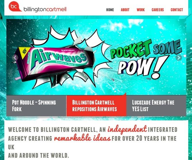 case study web design inspiration