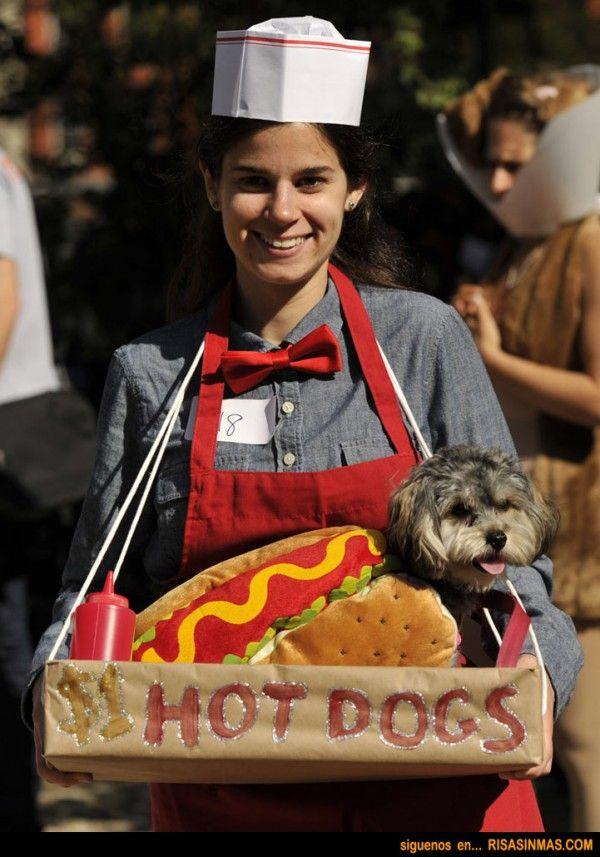 disfraz de vendedor de perritos calientes