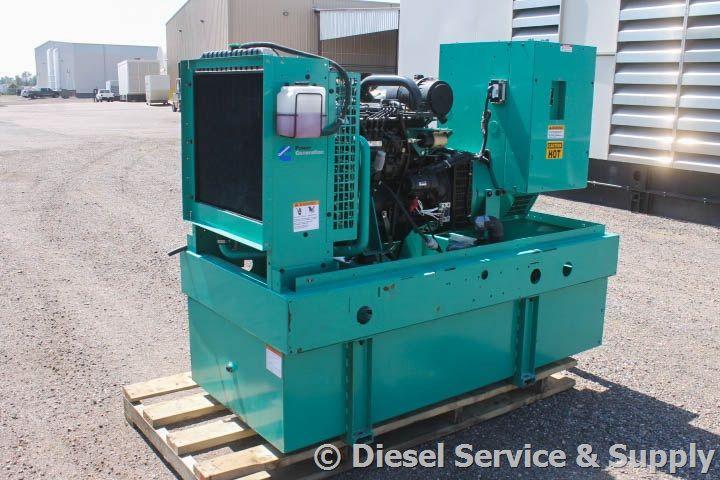 For Sale! Onan 35 kW Diesel Standby Generator Set Model #DGBB-5003754, Year 2001, 769 Hours, 240 Volt, Single-Phase, Auto Start/Stop, 12 Volt Alternator, Dry Pack Air Cleaner, 150 Amp Circuit Breaker, Tank Type Block Heater, Standard Generator Panel, Standard Engine Panel, Engine Mount Radiator, 145 Gallon Double Wall Base Fuel Tank. Unit#: 87375 #cummins #dieselgenerator http://www.dieselserviceandsupply.com/Used-Generators/Cummins-35-87375.aspx